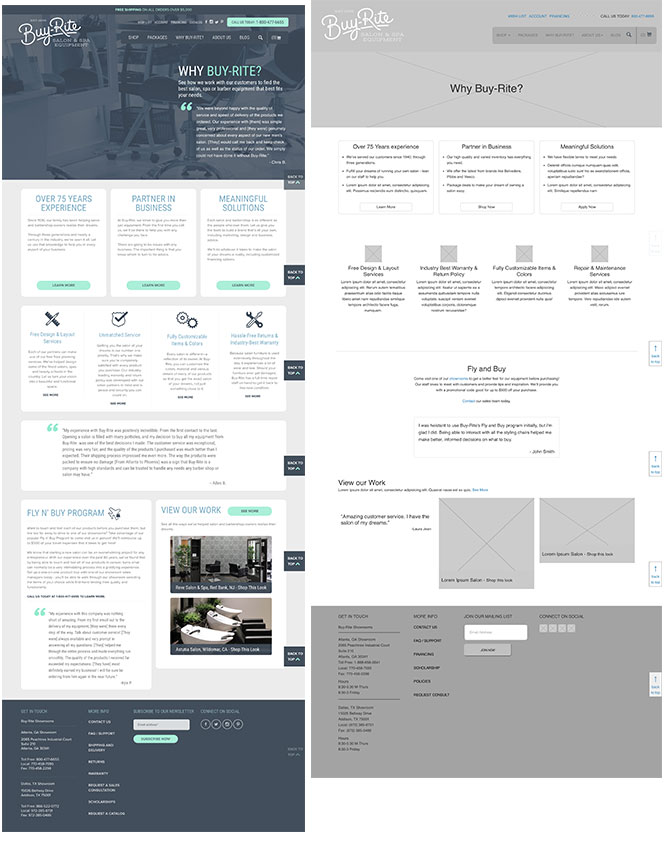 wireframe site capture and wireframe